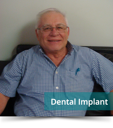 Dental Testimonials: Jose Rojas - Dental Implant